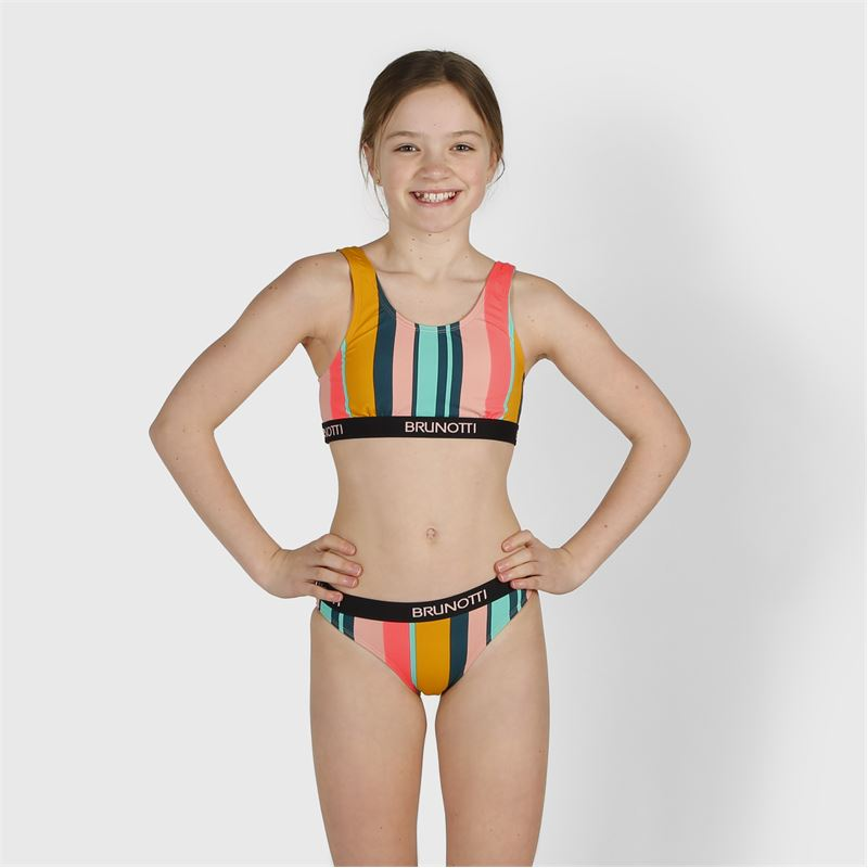 Brunotti Giovanna  (groen) - meisjes bikini's - Brunotti online shop