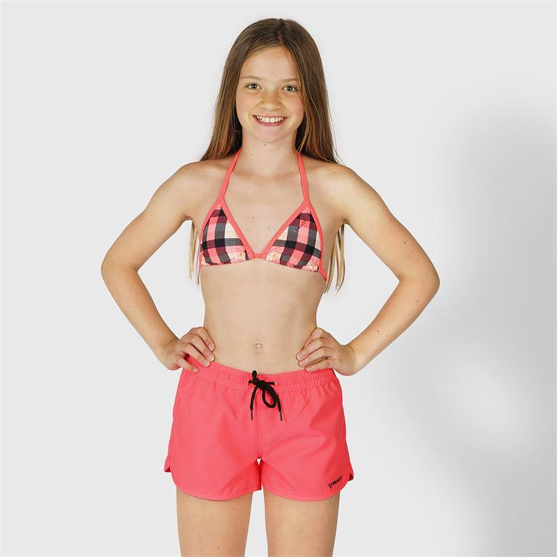Brunotti Glenissa  (roze) - meisjes beachshorts - Brunotti online shop