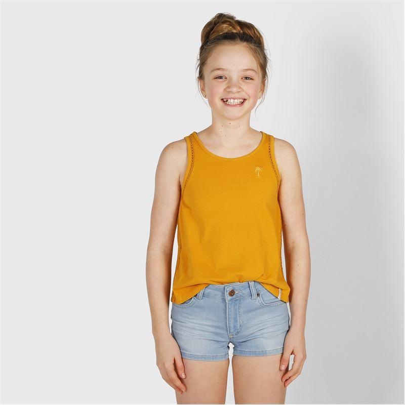 Brunotti Lara-Denim  (blauw) - meisjes casual shorts - Brunotti online shop