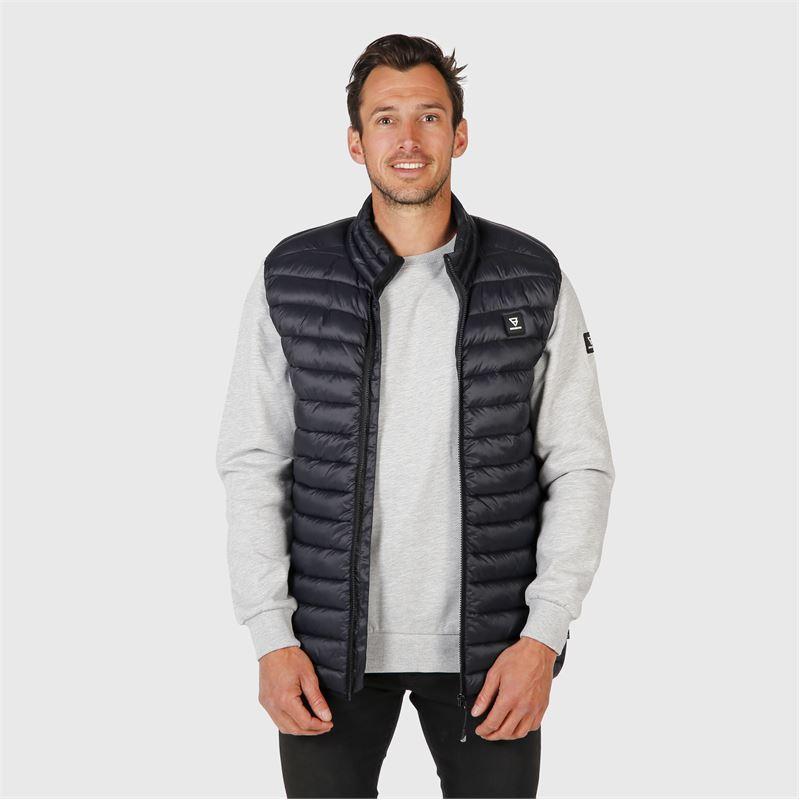 Brunotti Balan  (zwart) - heren casual jassen - Brunotti online shop
