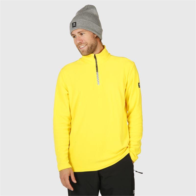 Brunotti Tenno-N  (yellow) - men fleeces - Brunotti online shop