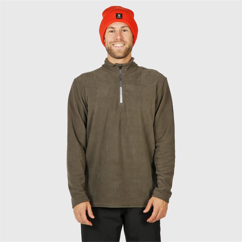 Brunotti Tenno-N  (grijs) - heren fleeces - Brunotti online shop