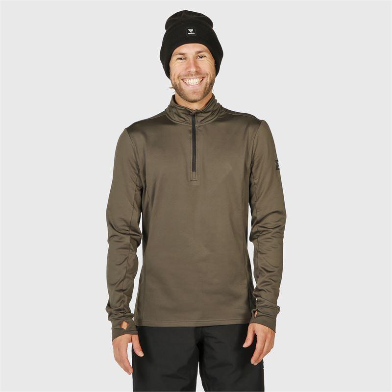 Brunotti Terni  (grey) - men fleeces - Brunotti online shop