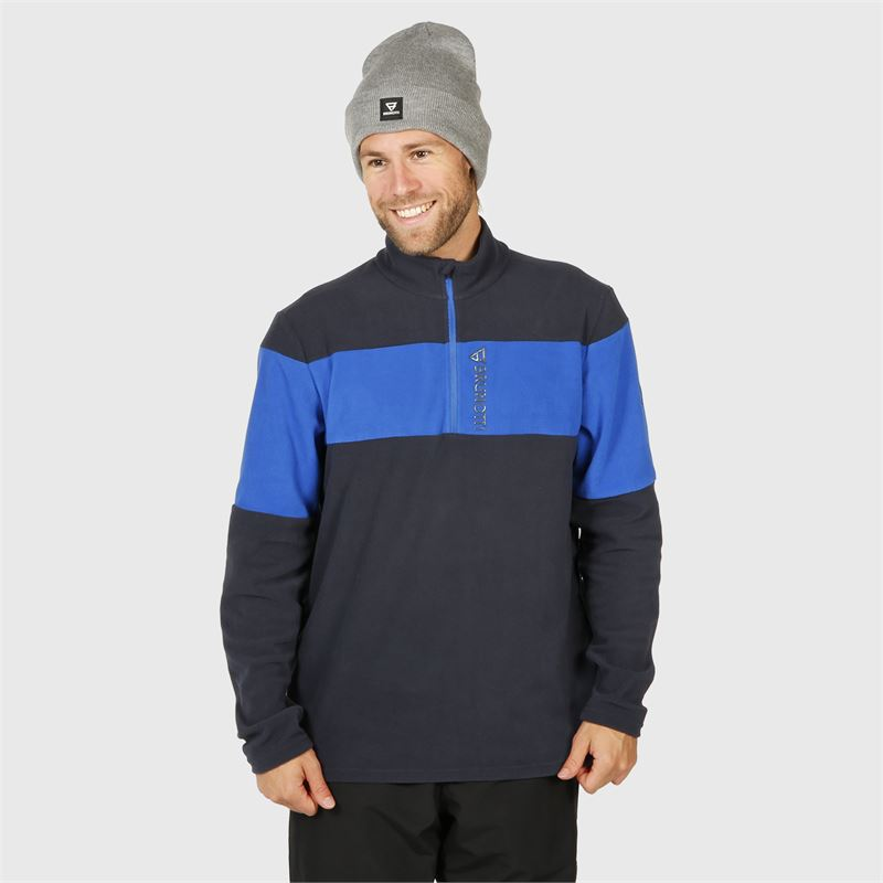 Brunotti Vaughn  (blauw) - heren fleeces - Brunotti online shop