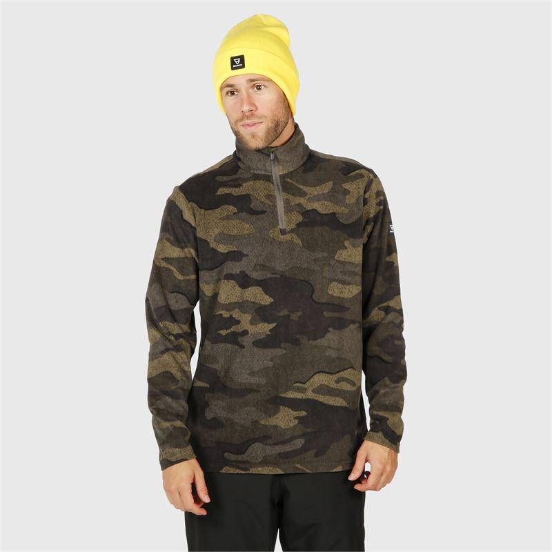 Brunotti Stewart  (grijs) - heren fleeces - Brunotti online shop