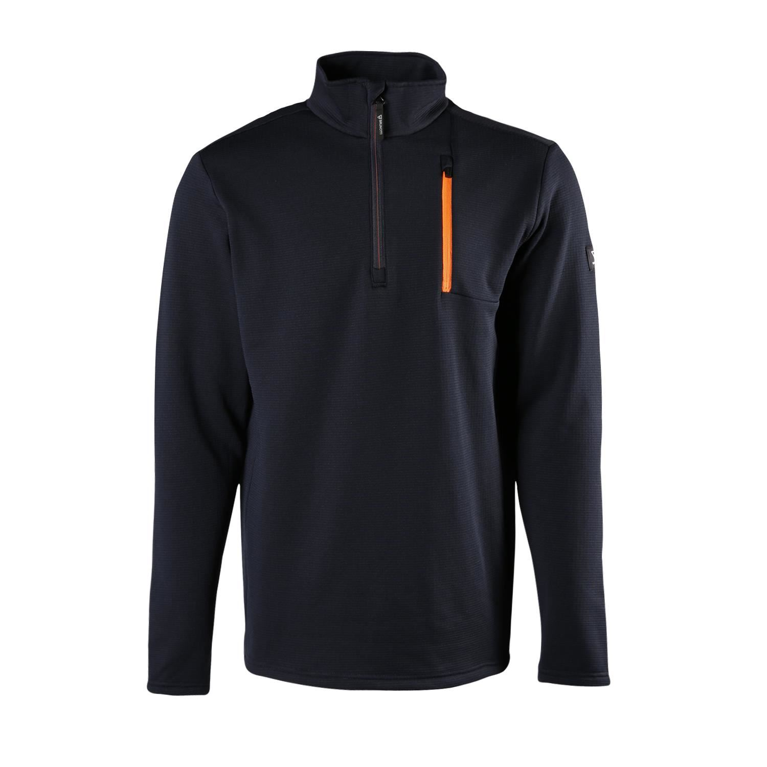 Brunotti Pintal  (blauw) - heren fleeces - Brunotti online shop
