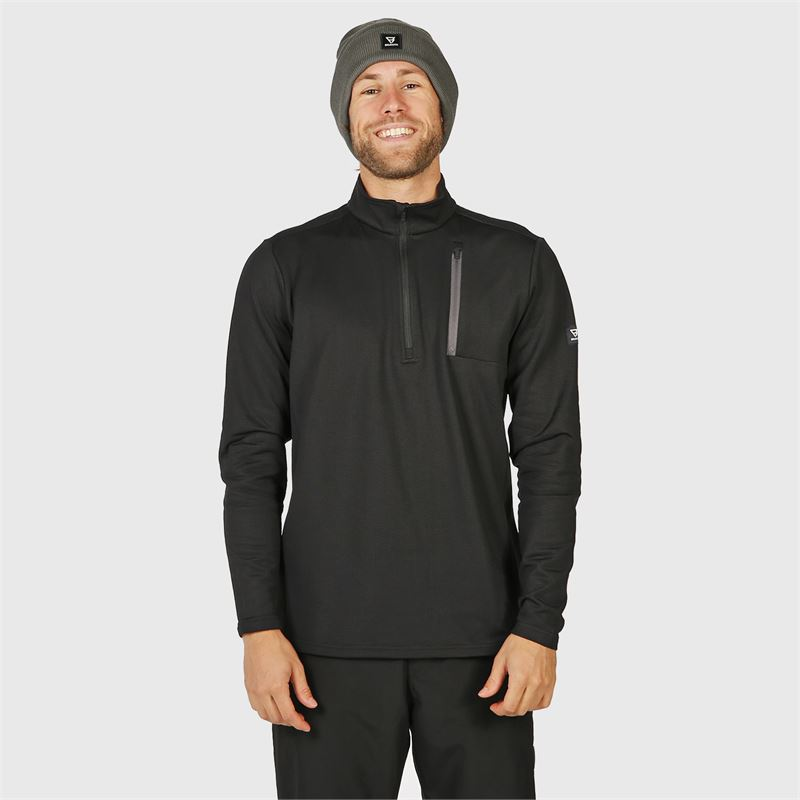 Brunotti Pintal  (schwarz) - herren fleeces - Brunotti online shop