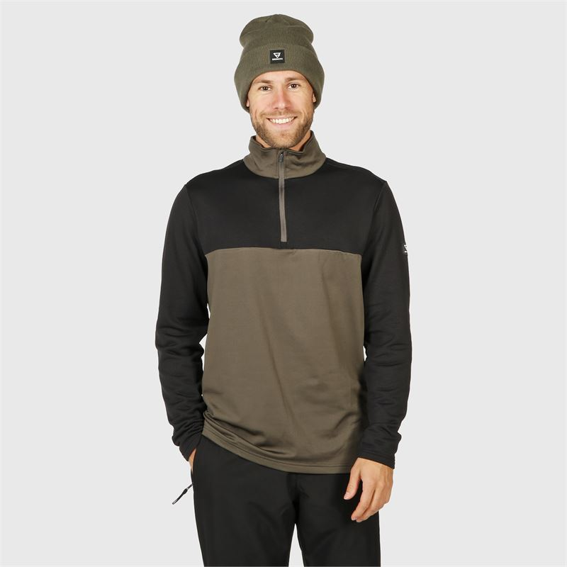 Brunotti Norris  (grey) - men fleeces - Brunotti online shop