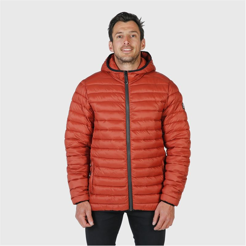 Brunotti Talan  (oranje) - heren casual jassen - Brunotti online shop
