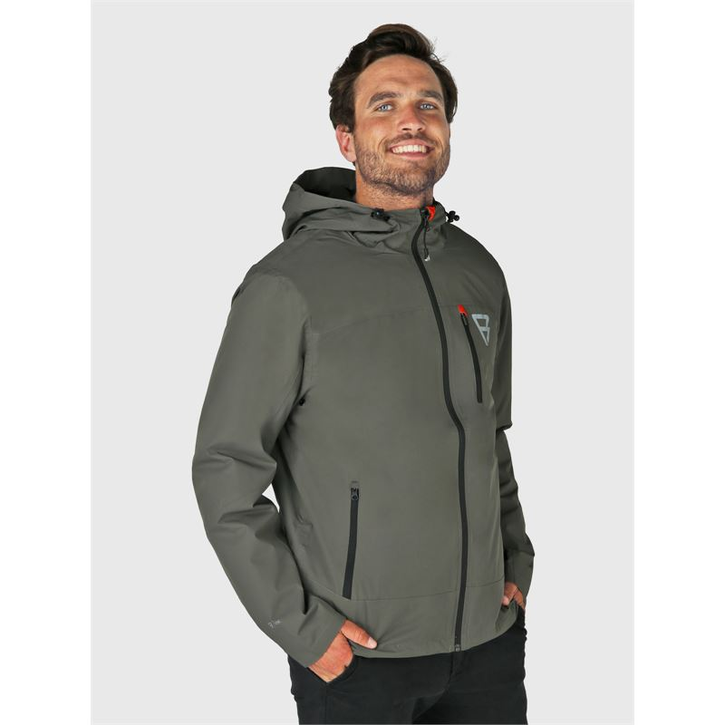 Brunotti Weylin-N  (grey) - men casual jackets - Brunotti online shop