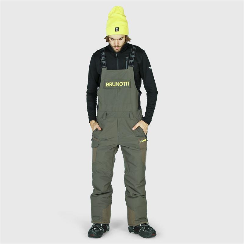 Brunotti Olwen-BIB  (grau) - herren skihosen - Brunotti online shop