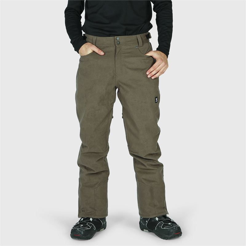 Brunotti Kitebar-Corduroy  (grey) - men snow pants - Brunotti online shop