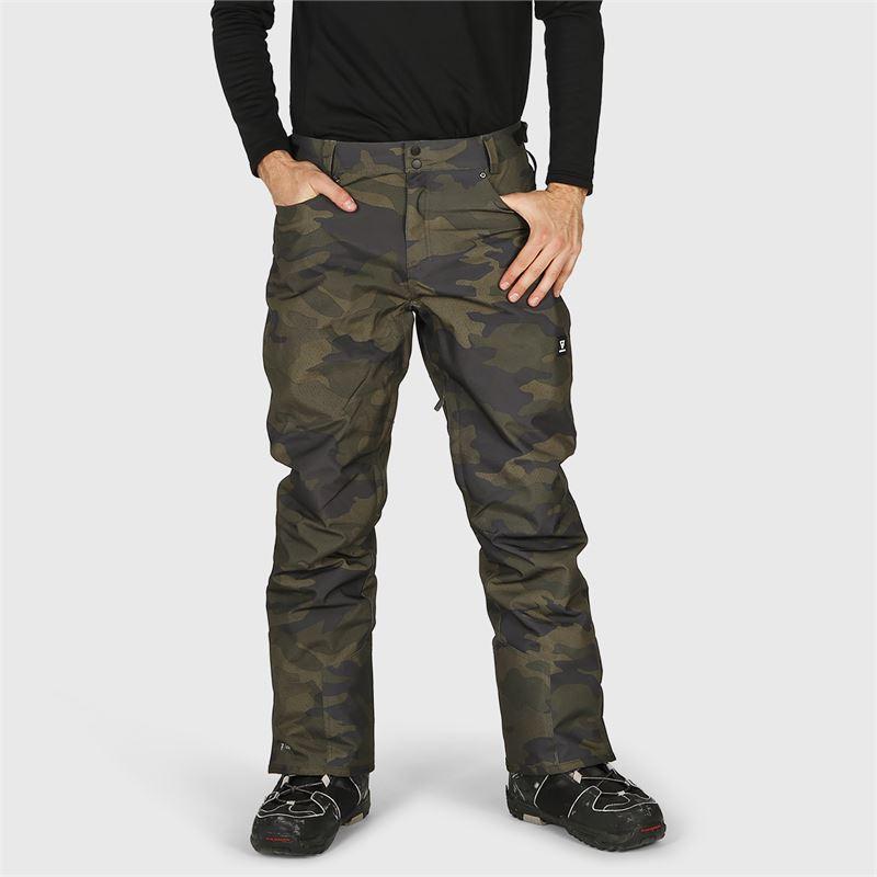 Brunotti Kitebar-Camo  (grijs) - heren skibroeken - Brunotti online shop