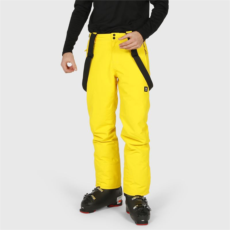 Brunotti Jiro-S  (yellow) - men snow pants - Brunotti online shop