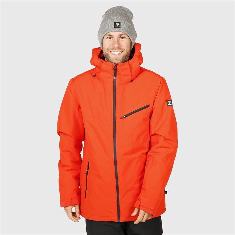 Brunotti Pander  (red) - men snow jackets - Brunotti online shop