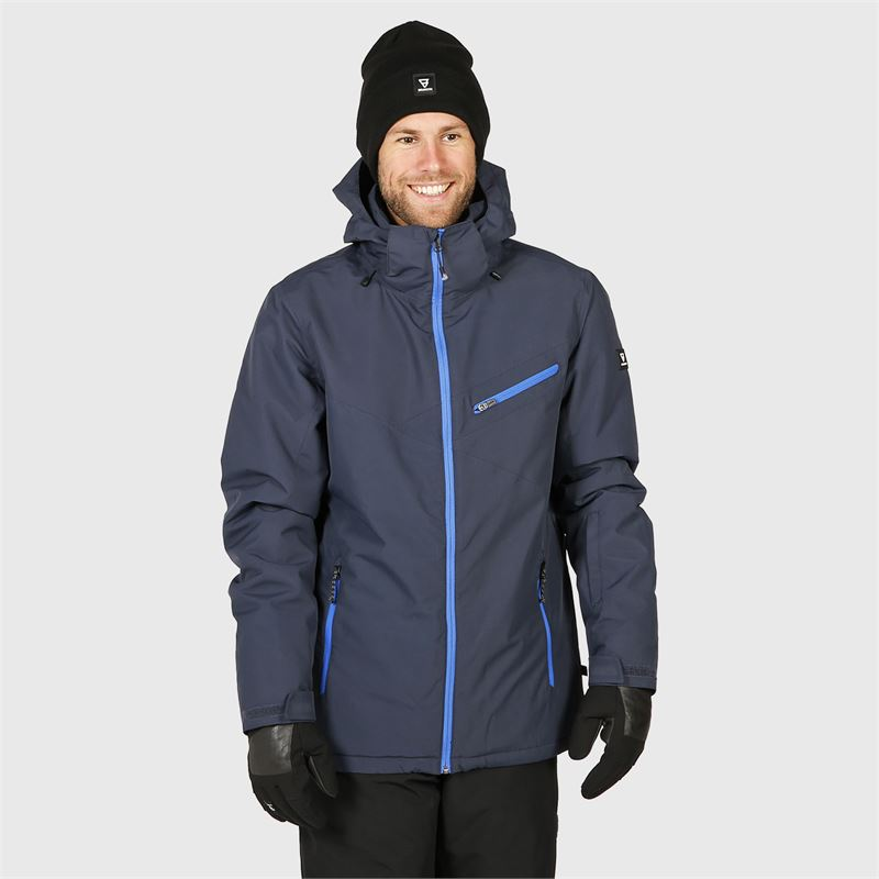 Brunotti Pander  (blue) - men snow jackets - Brunotti online shop