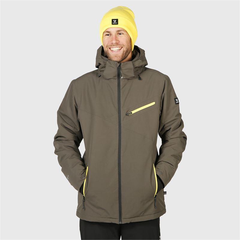 Brunotti Pander  (grijs) - heren ski-jassen - Brunotti online shop