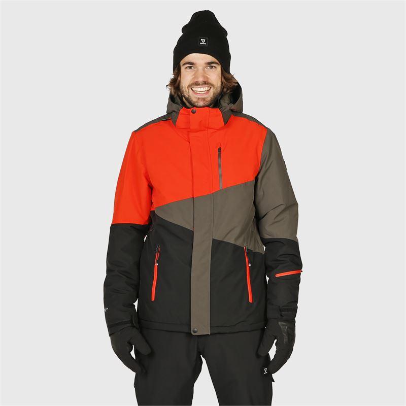 Brunotti Idaho  (zwart) - heren ski-jassen - Brunotti online shop