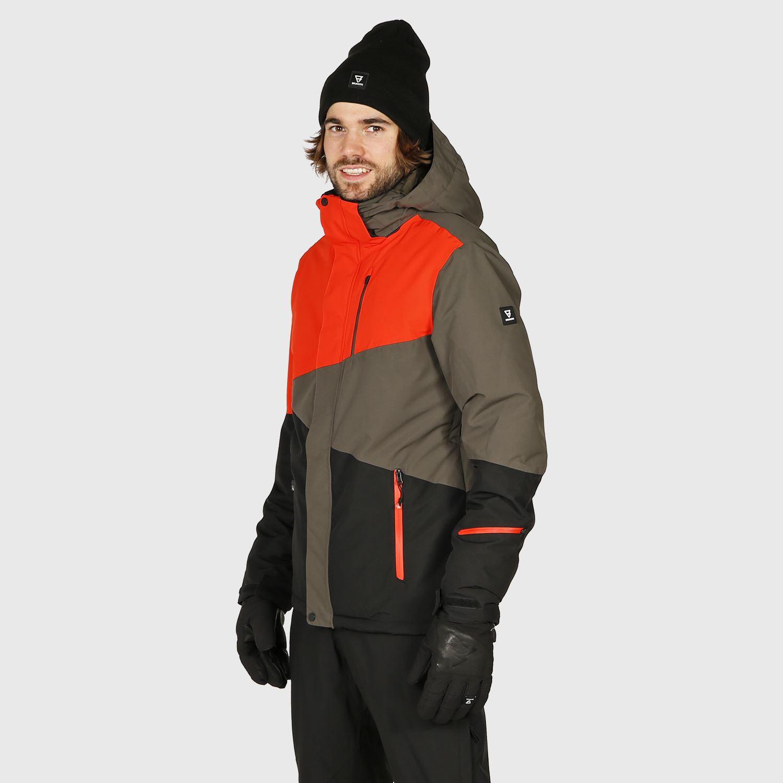 Details about  /Brunotti Ski Jacket Winter Snow Jacket Green Idaho Jr 8k Insulating