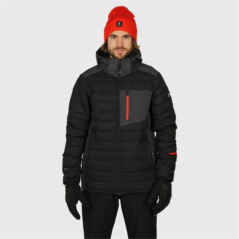 Brunotti Trysail  (zwart) - heren ski-jassen - Brunotti online shop