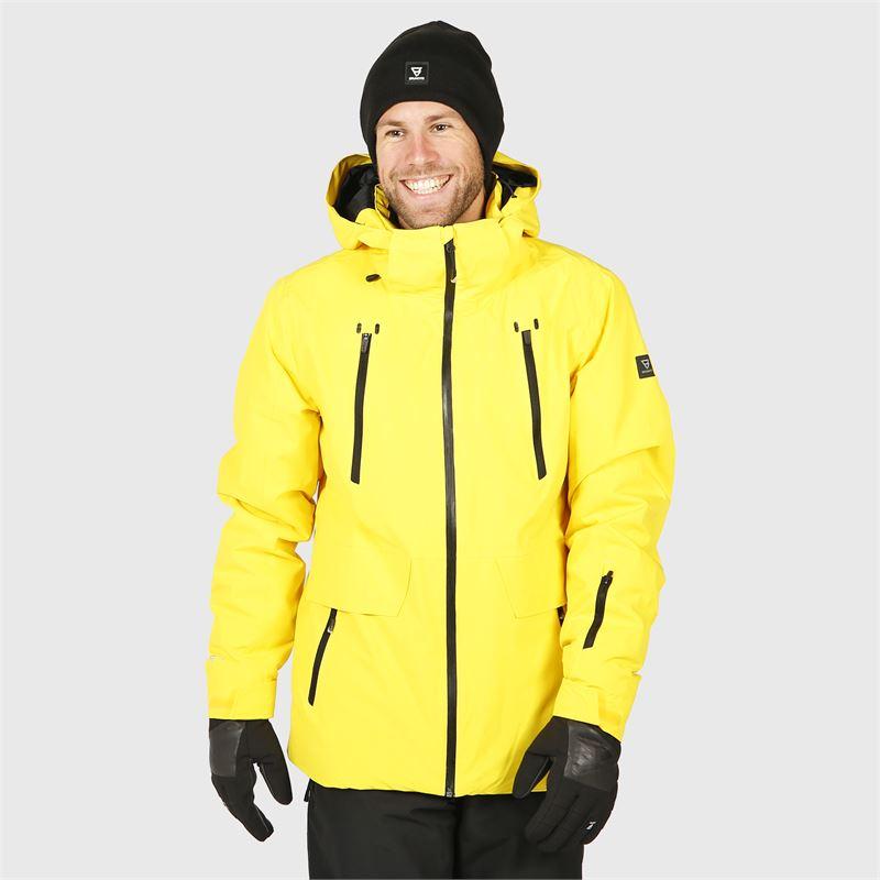 Brunotti Boran  (yellow) - men snow jackets - Brunotti online shop