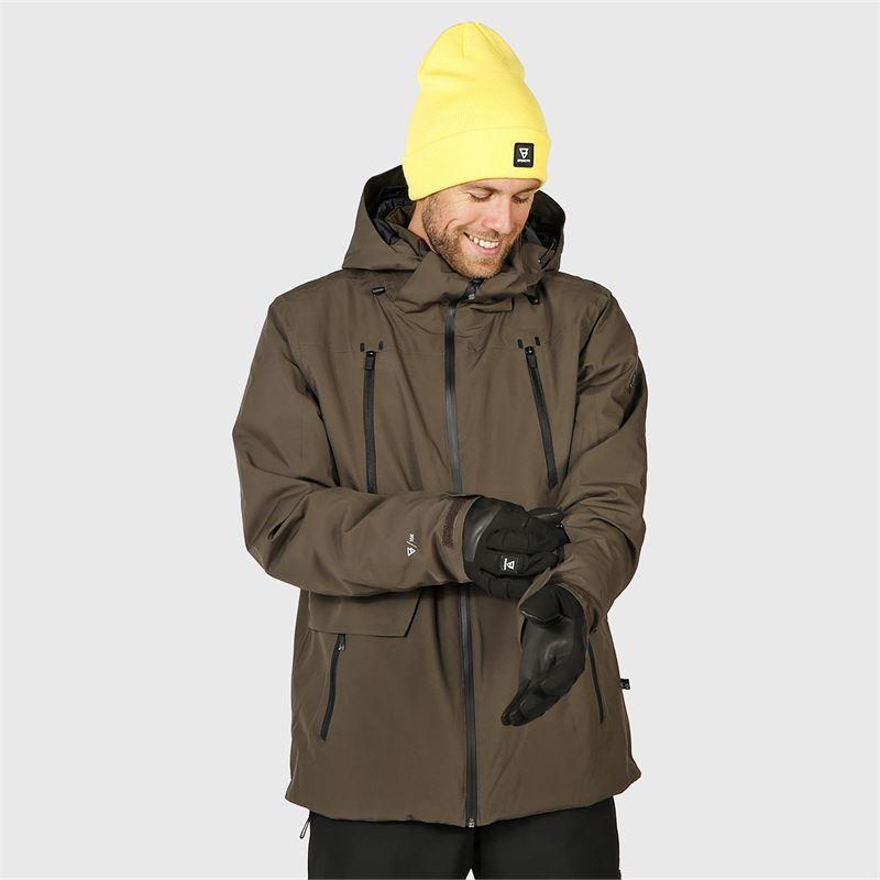 Brunotti Boran  (grey) - men snow jackets - Brunotti online shop