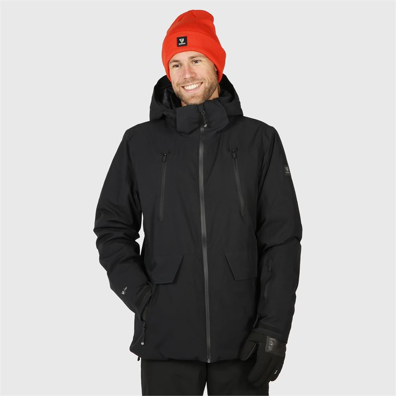 Brunotti Boran  (black) - men snow jackets - Brunotti online shop