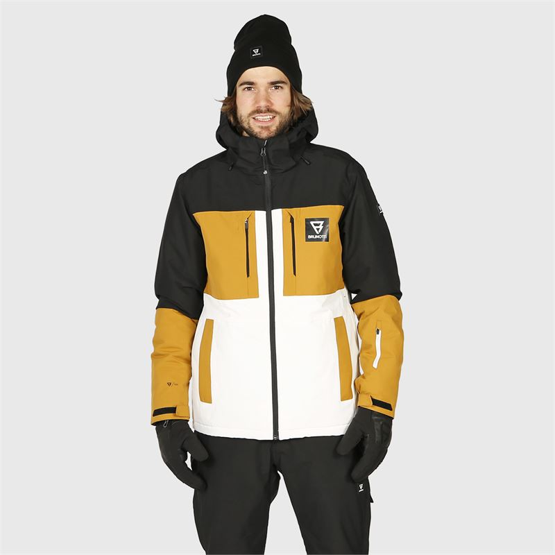 Brunotti Aracin  (wit) - heren ski-jassen - Brunotti online shop