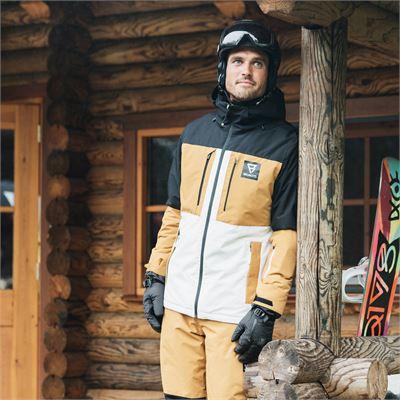 Brunotti Aracin Mens Snowjacket. Beschikbaar in S,M,L,XL,XXL,XXXL (2021123083-001)
