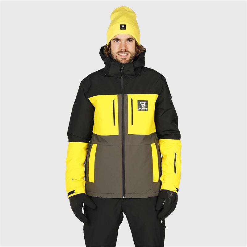 Brunotti Aracin  (grijs) - heren ski-jassen - Brunotti online shop