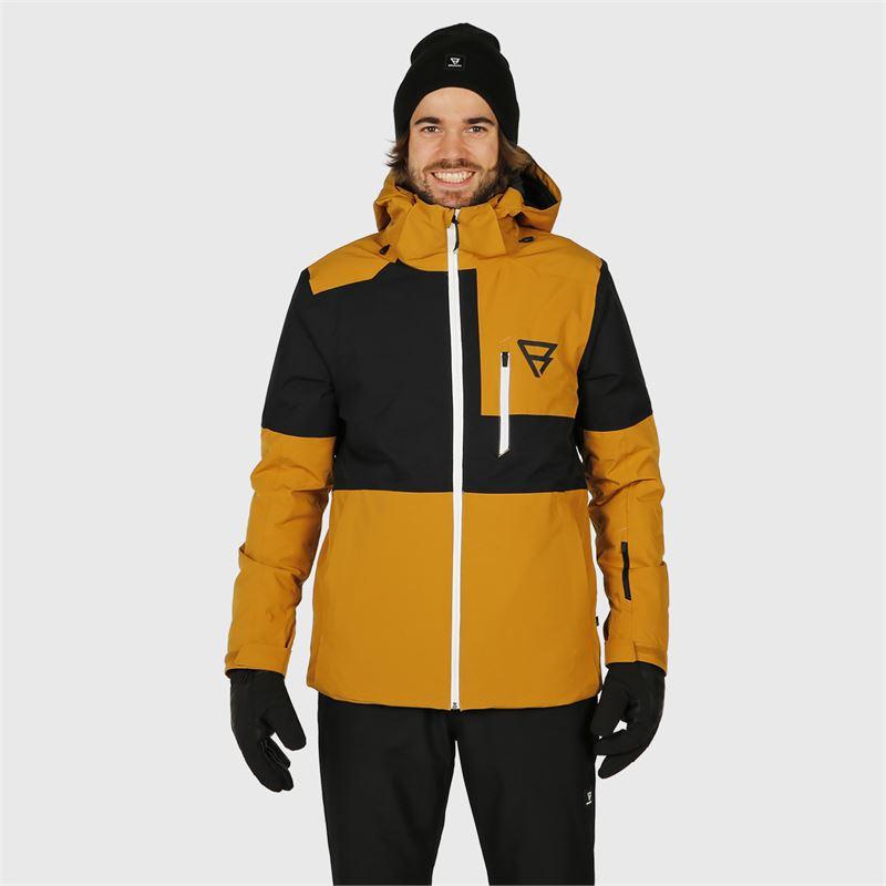 Brunotti Strokers  (bruin) - heren ski-jassen - Brunotti online shop