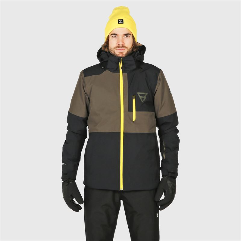 Brunotti Strokers  (black) - men snow jackets - Brunotti online shop