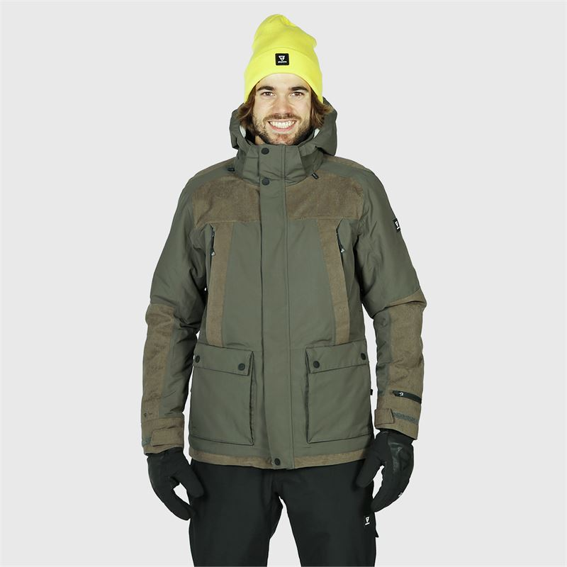 Brunotti Glenn  (grey) - men snow jackets - Brunotti online shop