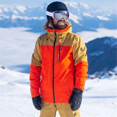 Brunotti Kane Mens Snowjacket. Verfügbar in S,M,L,XL,XXL,XXXL (2021123113-0222)