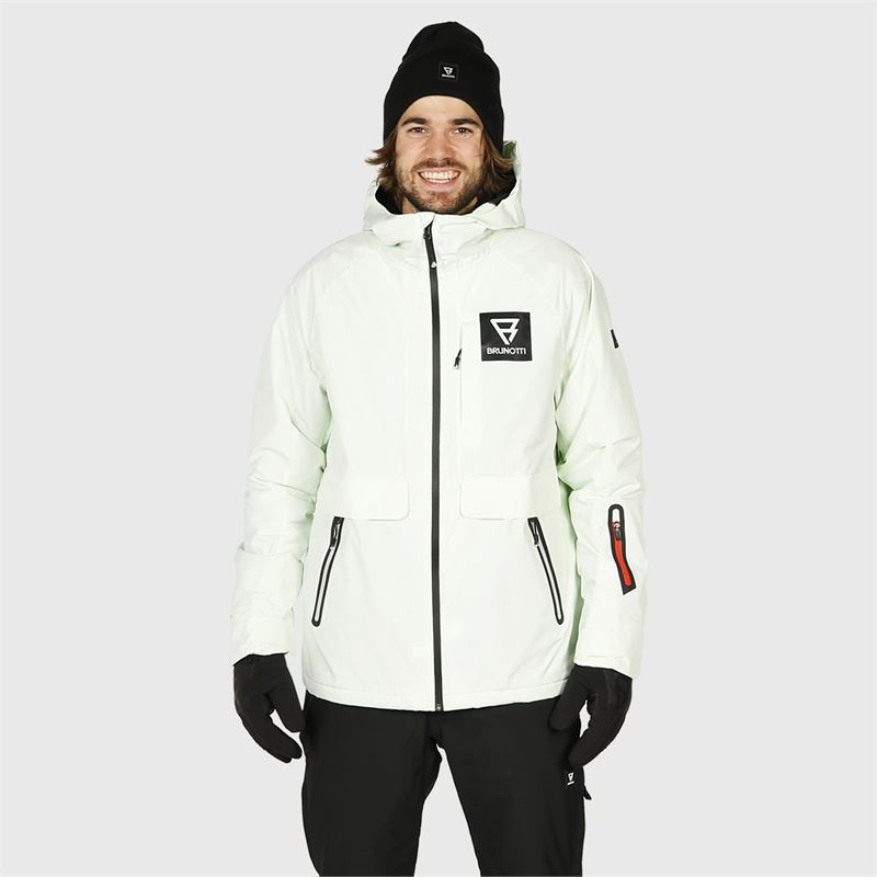Brunotti Interio  (white) - men snow jackets - Brunotti online shop
