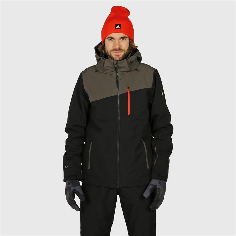 Brunotti Barry  (zwart) - heren ski-jassen - Brunotti online shop