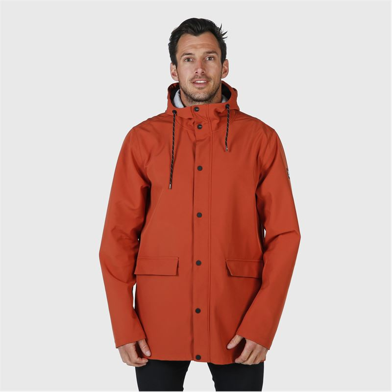 Brunotti Hector  (orange) - men casual jackets - Brunotti online shop