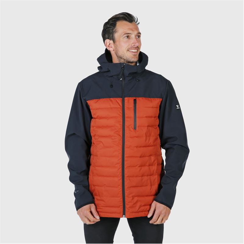 Brunotti Vardary  (orange) - herren casual jacken - Brunotti online shop