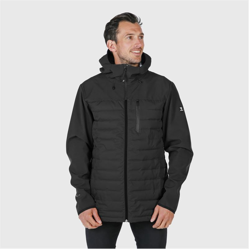 Brunotti Vardary  (black) - men casual jackets - Brunotti online shop