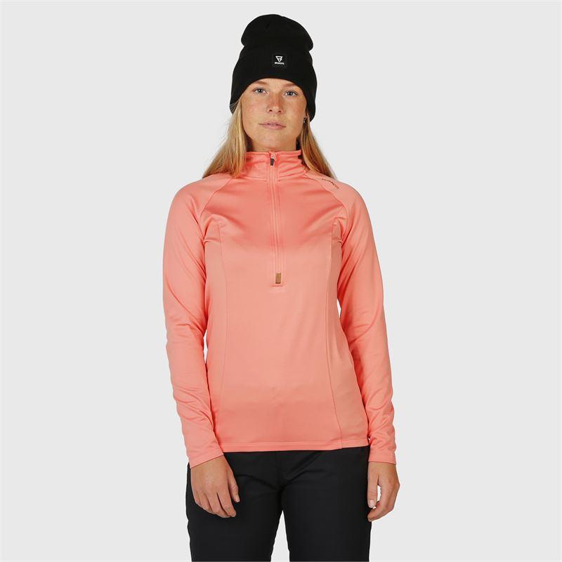 Brunotti Yrenna  (roze) - dames fleeces - Brunotti online shop