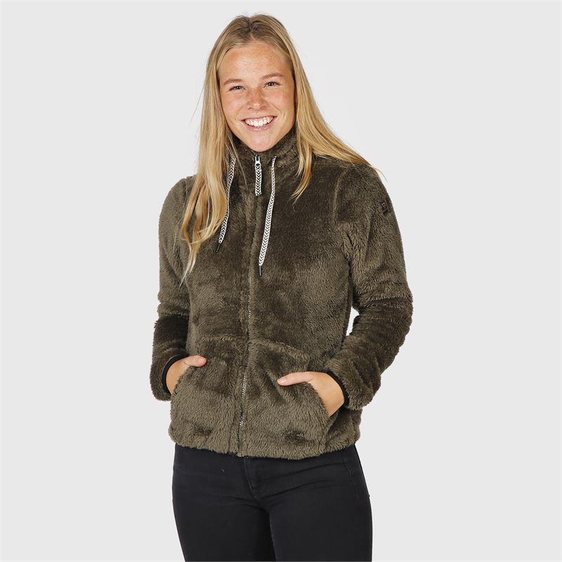 Brunotti Moani  (groen) - dames fleeces - Brunotti online shop