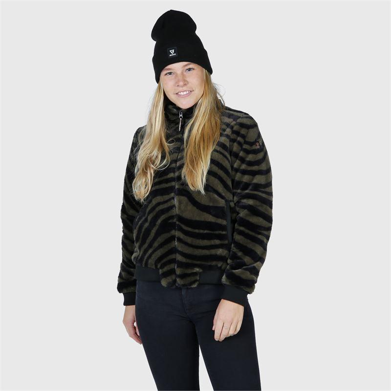 Brunotti Skylar  (zwart) - dames casual jassen - Brunotti online shop