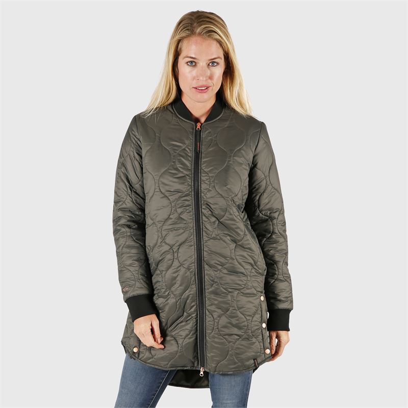 Brunotti Sitara  (grey) - women casual jackets - Brunotti online shop