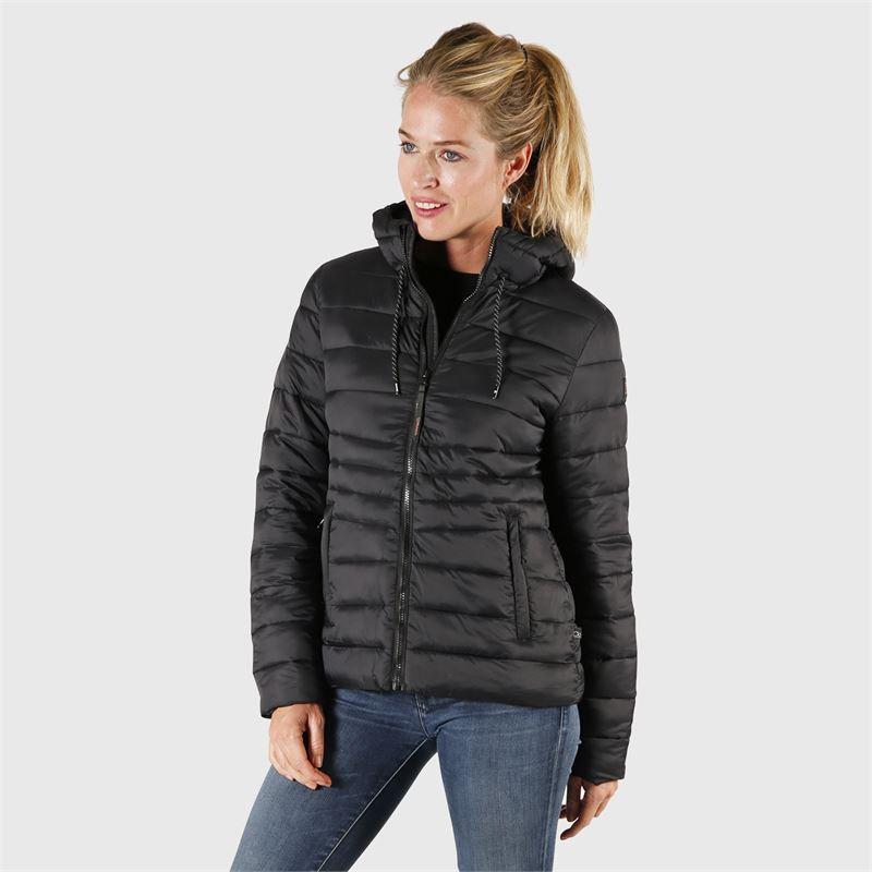 Brunotti Maija  (zwart) - dames casual jassen - Brunotti online shop