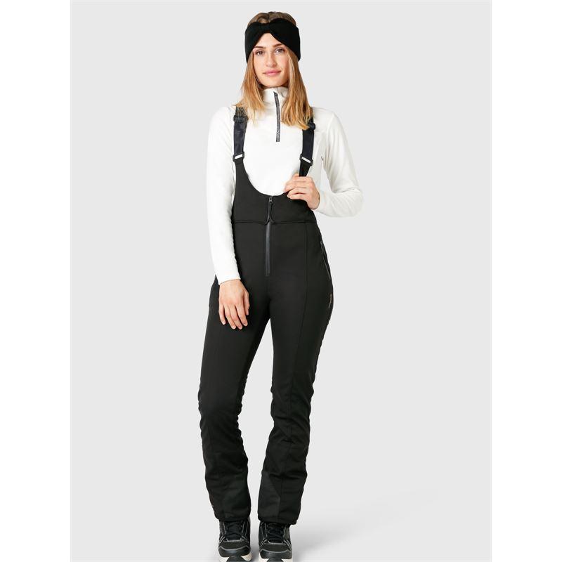 Brunotti Pelesa-BIB-N  (zwart) - dames skibroeken - Brunotti online shop