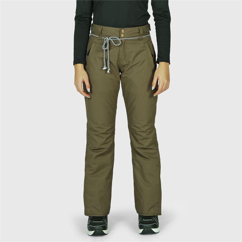 Brunotti Sunleaf  (green) - women snow pants - Brunotti online shop