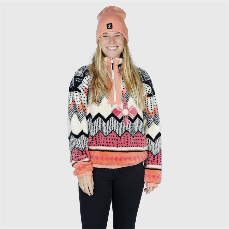 Brunotti Luana  (wit) - dames fleeces - Brunotti online shop