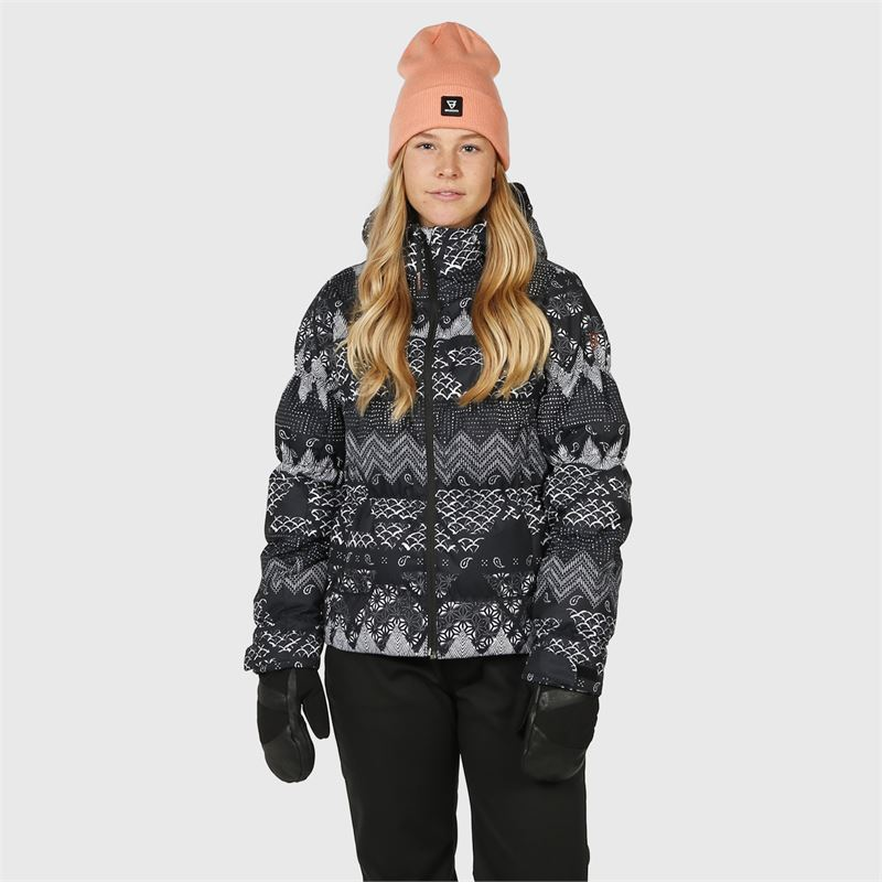 Brunotti Mikala-AO  (black) - women snow jackets - Brunotti online shop