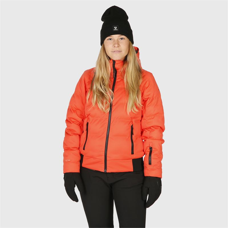 Brunotti Firecrown  (red) - women snow jackets - Brunotti online shop