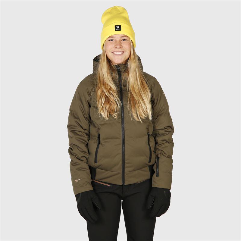 Brunotti Firecrown  (grün) - damen skijacken - Brunotti online shop